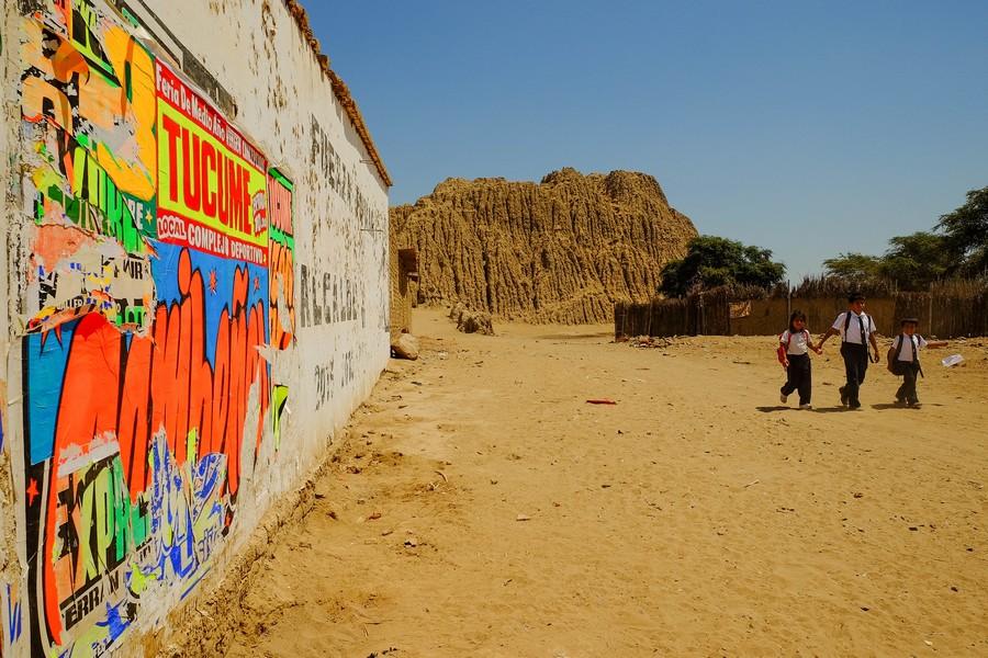 Pyramide de Tucume, Perou.