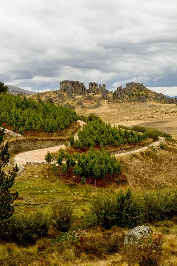 Le site naturel de Cumbe Mayo, au Perou.