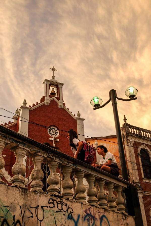Eglise à Iquitos, Perou