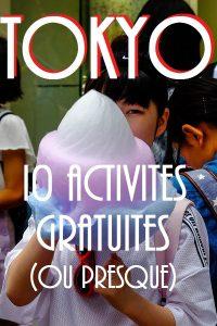10 activités gratuites à faire à Tokyo