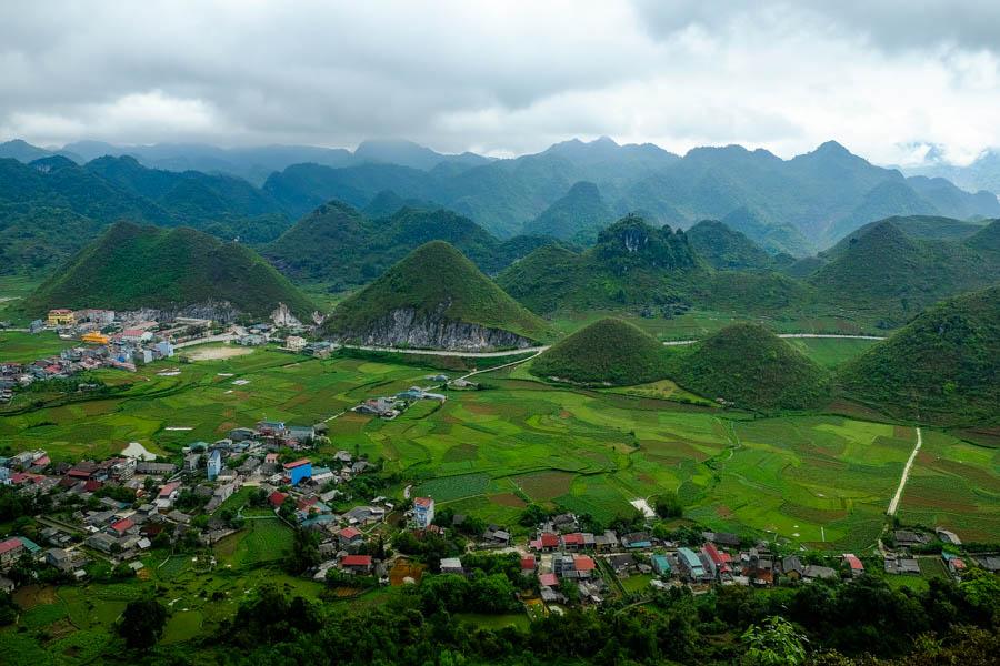 Heaven's pass, ou Quan Ba pass, près de Tam Son, Vietnam.