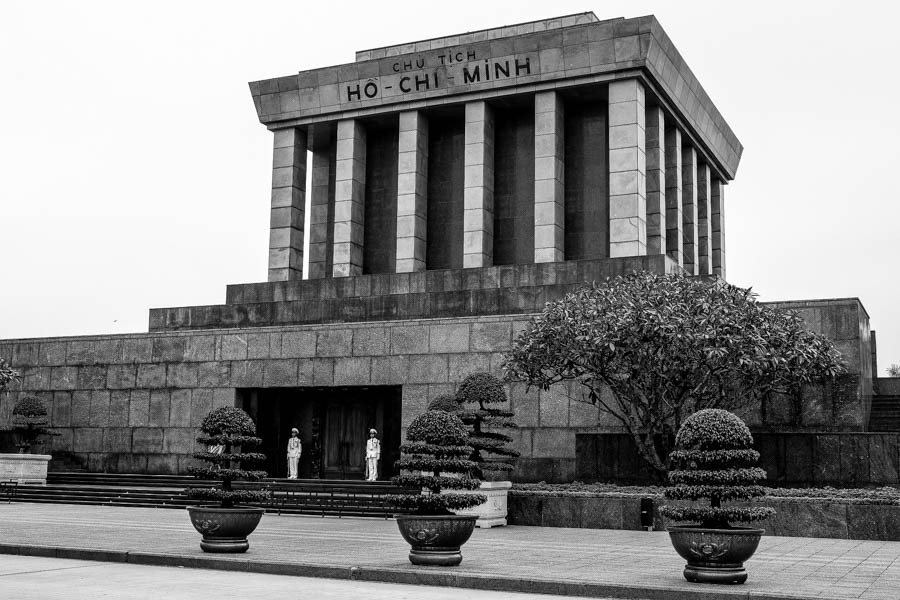Mausolée d'Ho Chi Minh à Hanoï.