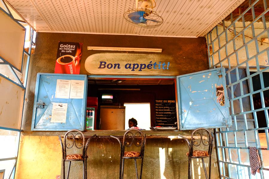 Maquis à Banfora au Burkina Faso.