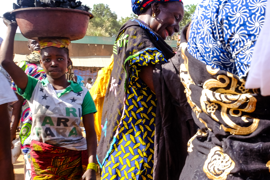 Au marché de Banfora, au Burkina Faso.