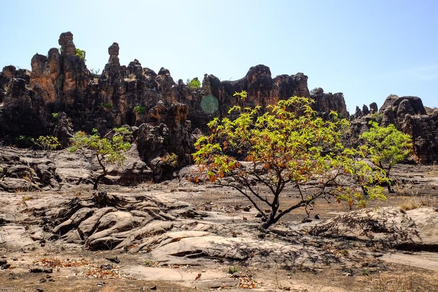 Pics de Sindou au Burkina Faso.
