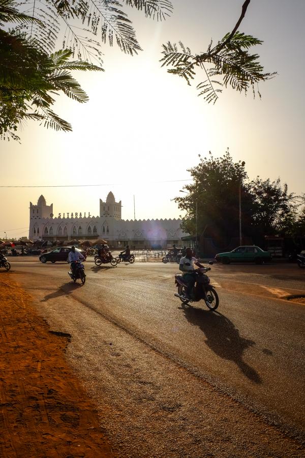 Gare de Bobo Dioulasso au Burkina Faso.