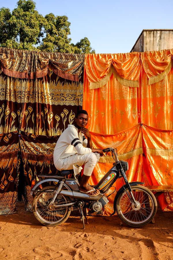 Portrait à Bobo au Burkina.