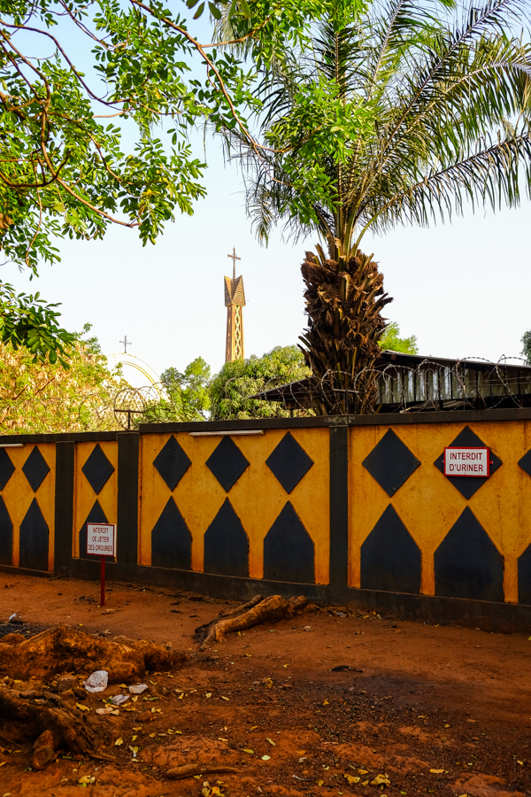 La cathédrale de Bobo Dioulasso.