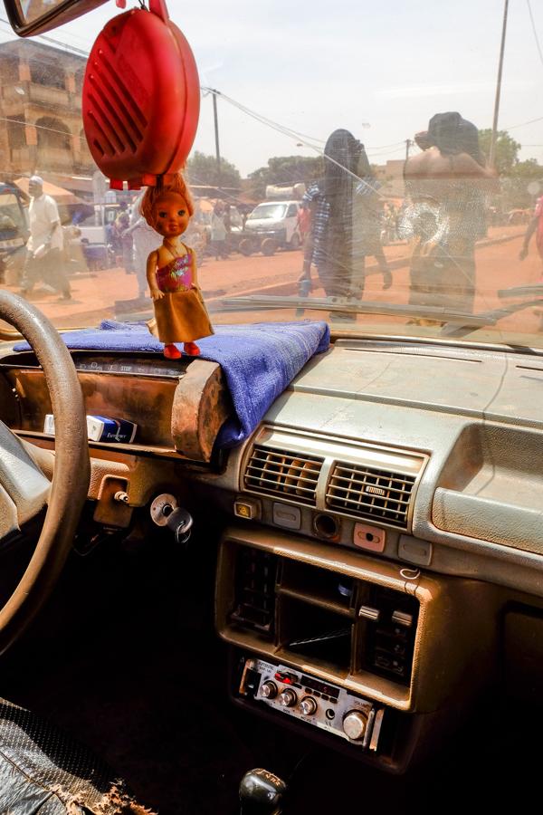 Taxi à Bobo au Burkina.