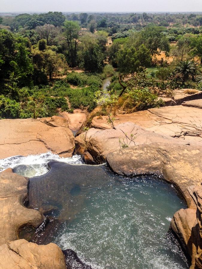 Les cascades de Karfiguela au Burkina Faso.