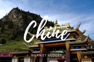 Bilan et budget de notre voyage en Chine.