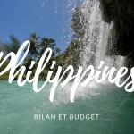 Bilan et budget de notre voyage aux Philippines.