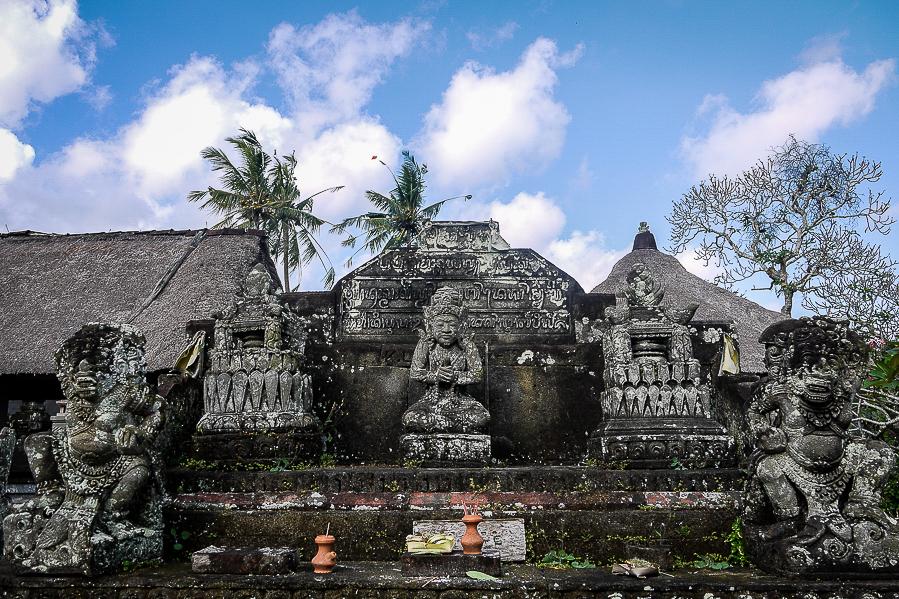 Temples hindous à Bali.