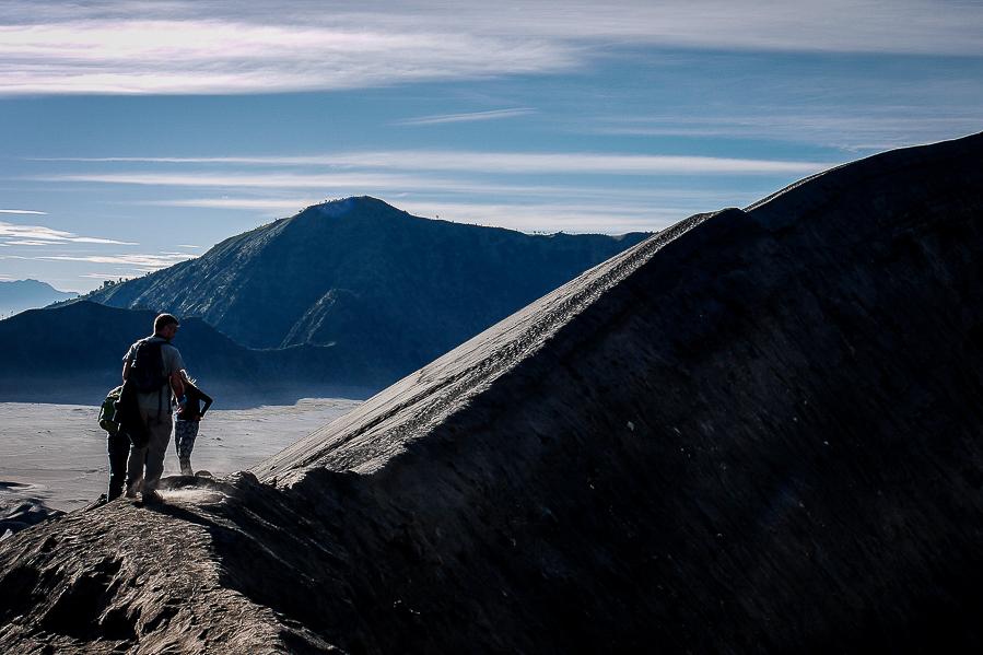 Le cratère du mont Bromo, Indonésie.