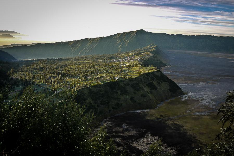 Vallée du mont Bromo, Java, Indonésie.
