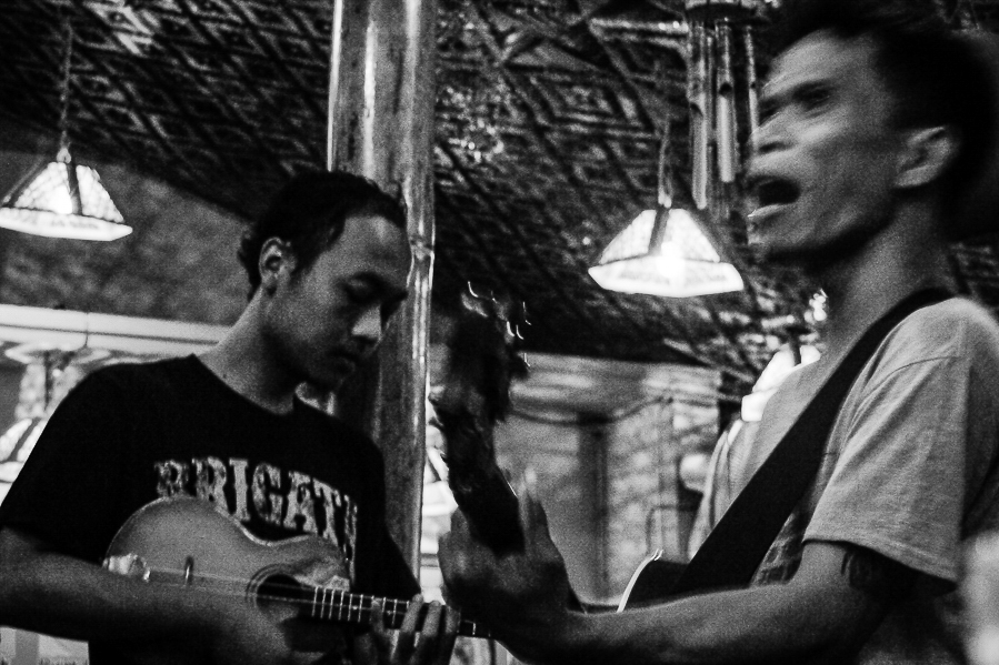 Concert à Yogyakarta en Indonésie.