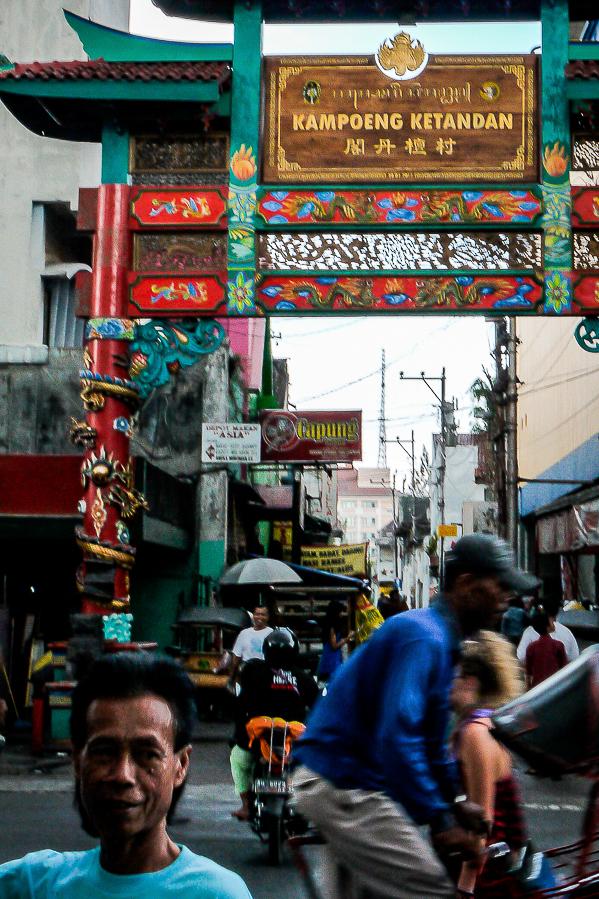 Photo de rue à Yogyakarta, Indonésie.