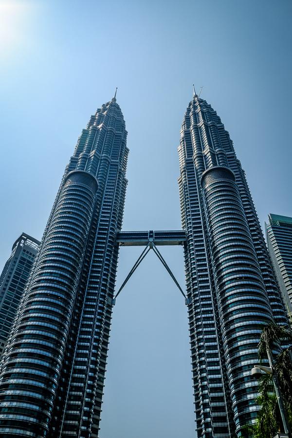 Les tours Petronas à Kuala Lumpur, Malaisie.