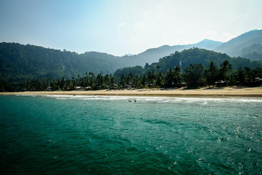 L'île de Tioman en Malaisie.