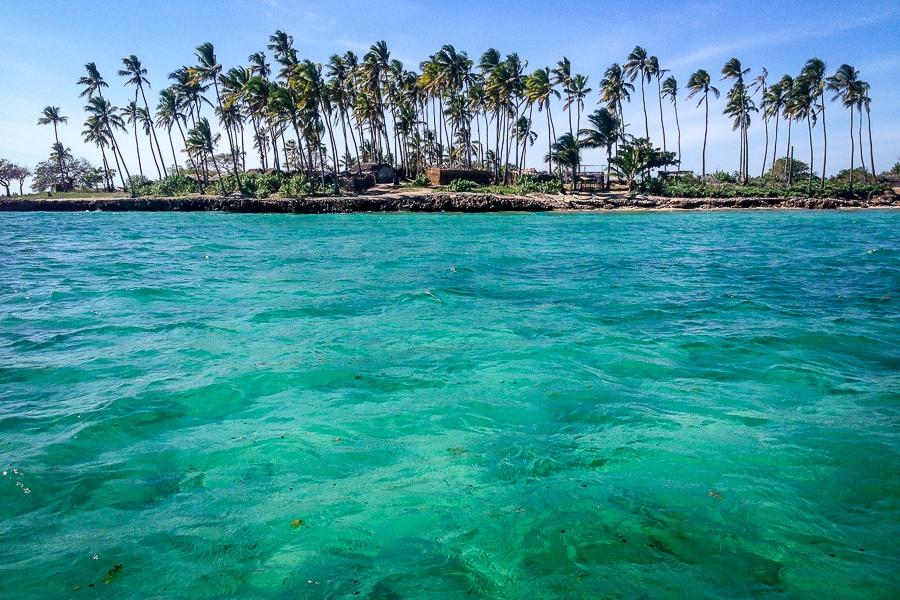 L'eau turquoise de l'archipel des Quirimbas, Mozambique.