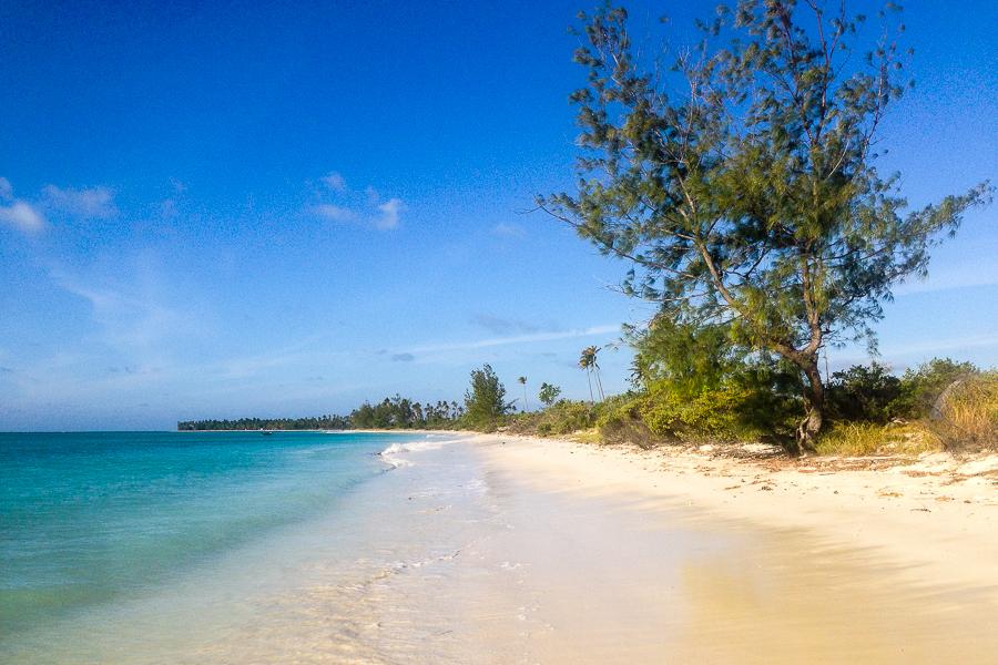 La plage de Matemo, archipel des Quirimbas, Mozambique.