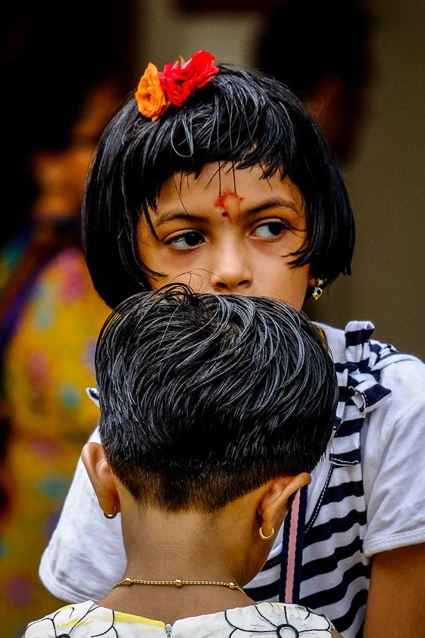 Les enfants indiens de Singapour.
