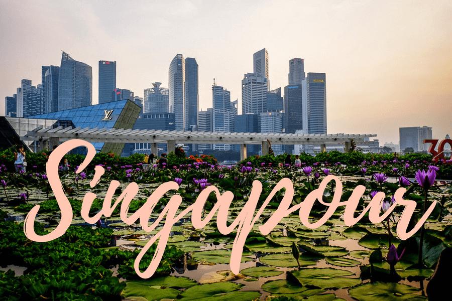 Toutes nos photos de Singapour !