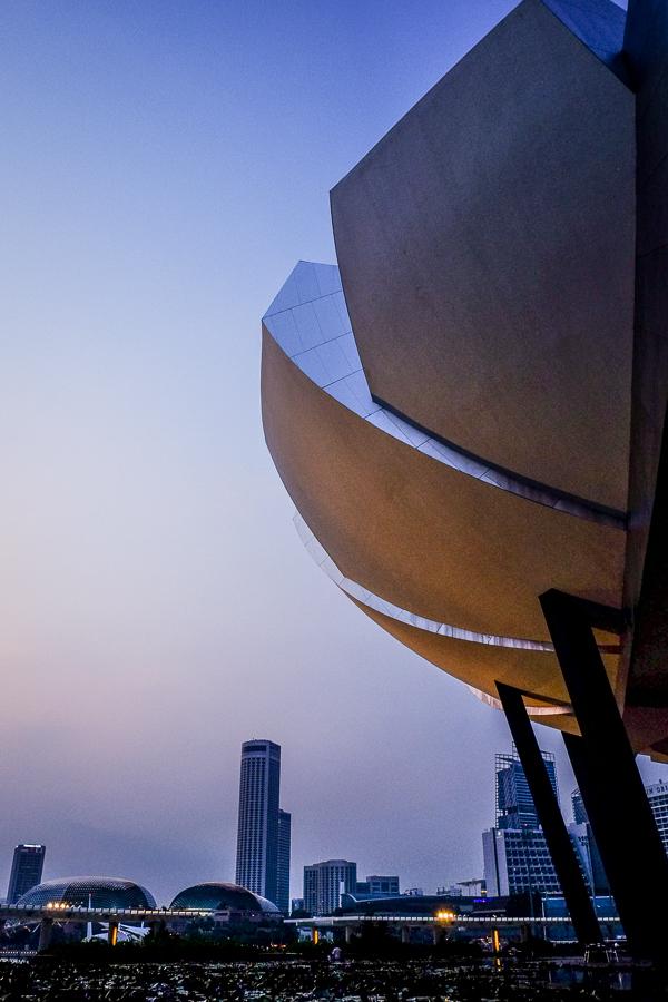Architecture de Singapour.
