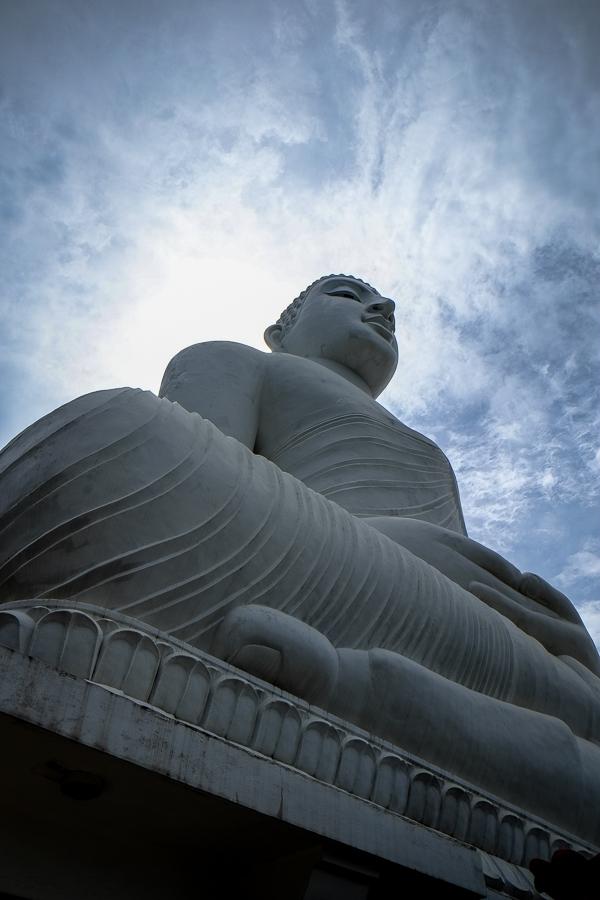 Statue du Bouddha au Sri Lanka.
