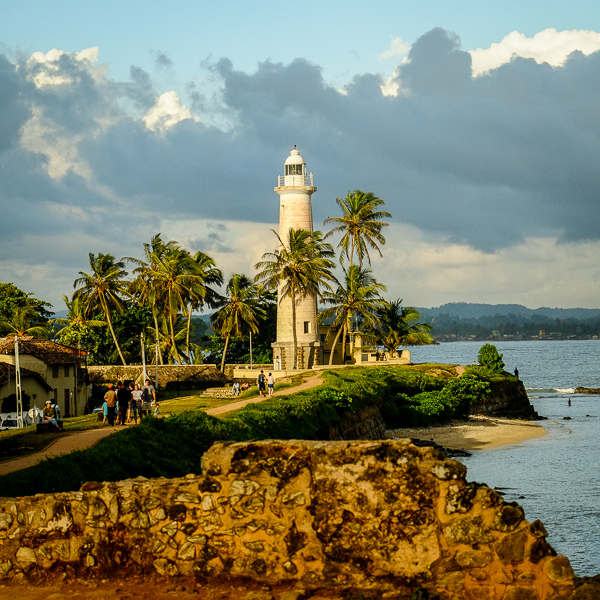 Phare de Galle au Sri Lanka.