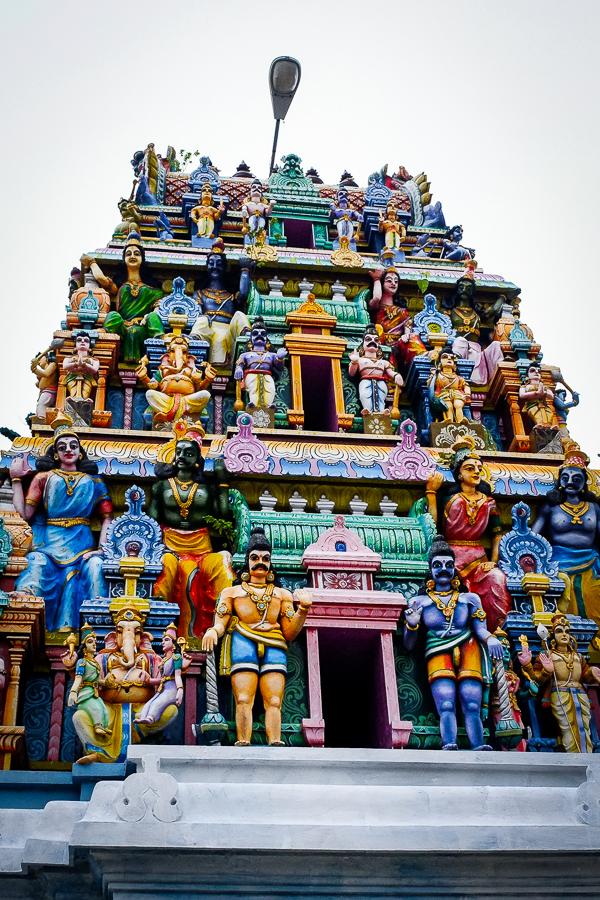 Temple hindou au Sri Lanka.